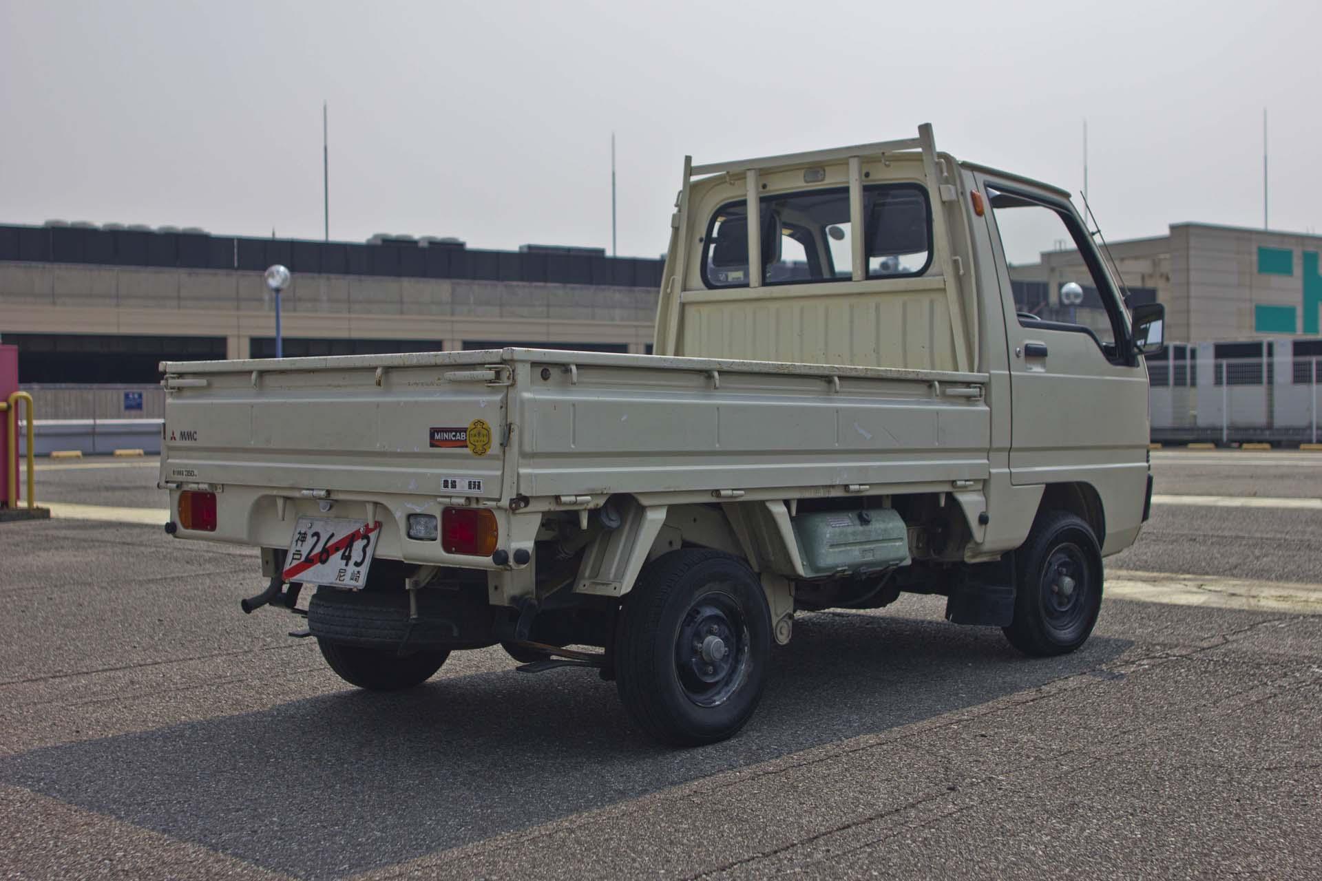 1989 Mitsubishi Minicab Mt Amagasaki Motor Co Ltd