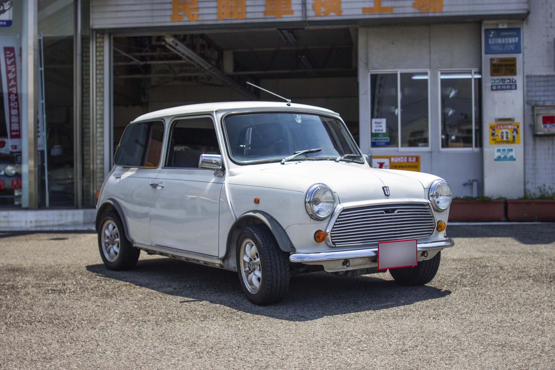 1990 Rover Mini Mayfair 4mt Amagasaki Motor Co Ltd Japan Used