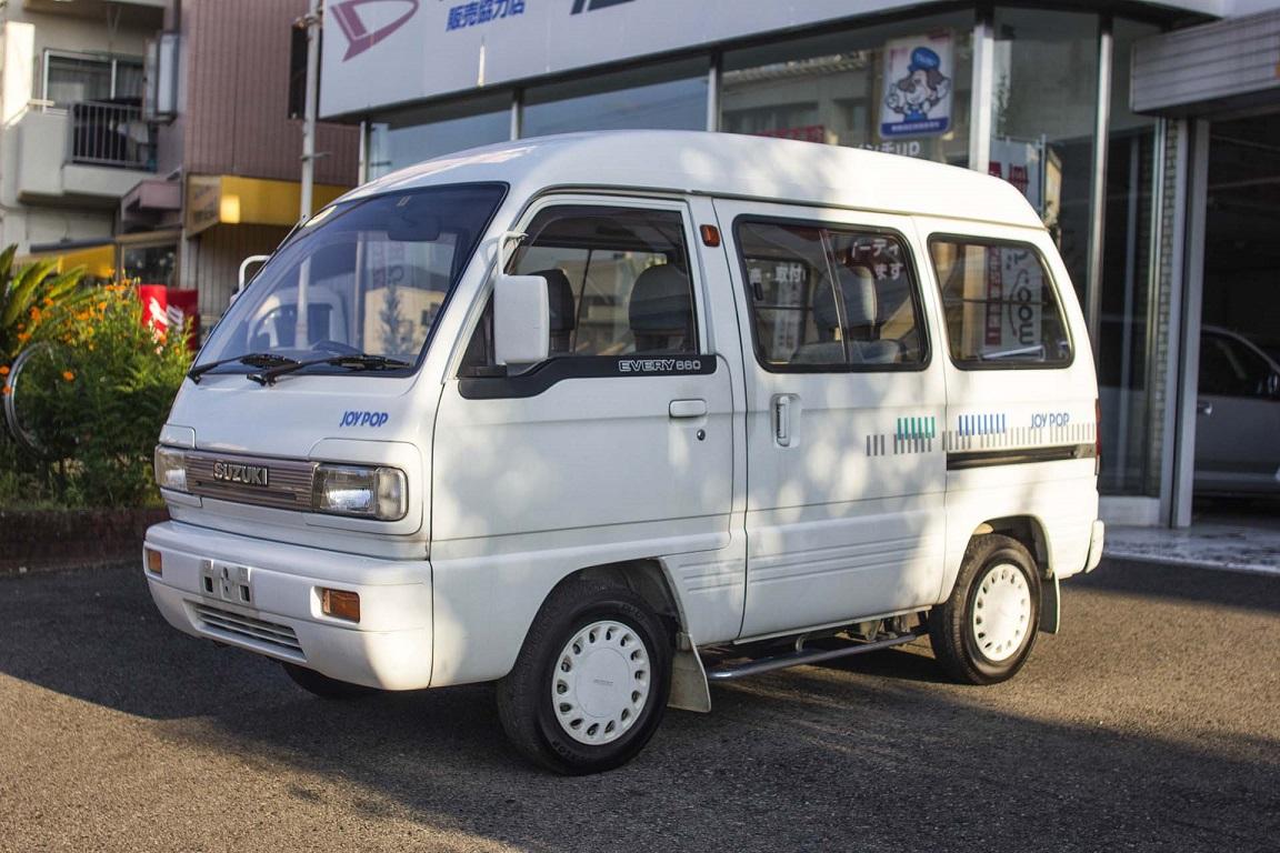 1990 SUZUKI EVERY JOYPOP VAN – Amagasaki Motor Co , Ltd  – Japan
