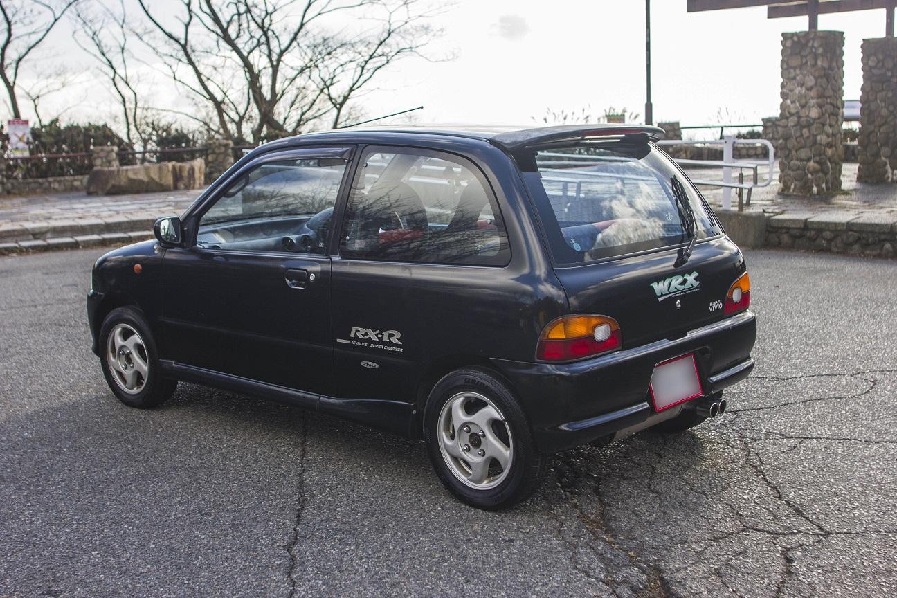 1992 SUBARU VIVIO RX-R 4WD