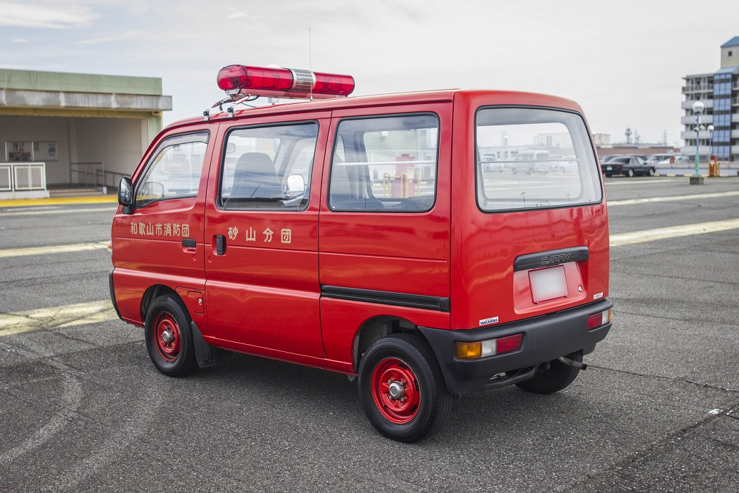 1992 FIRE ENGINE SUZUKI CARRY
